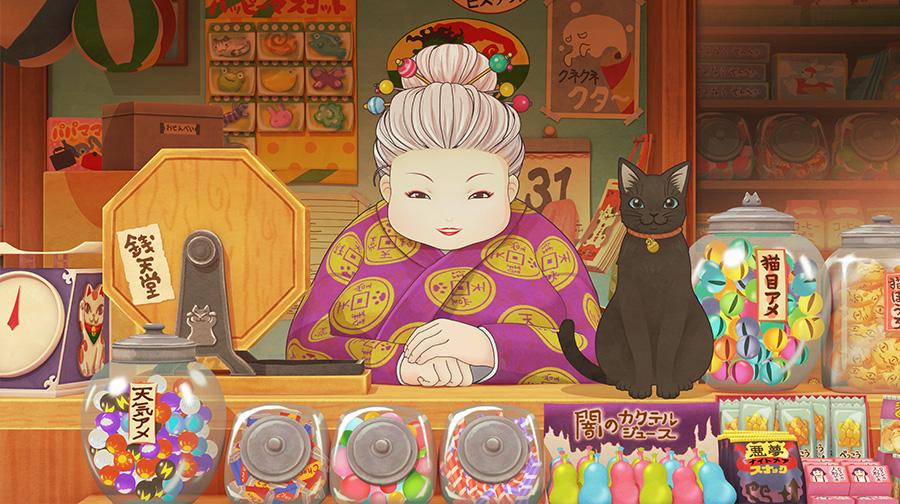 小学生に大人気のシリーズ「ふしぎ駄菓子屋銭天堂」テレビアニメ化決定!